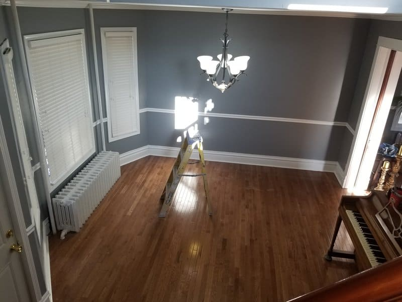 interior house painting in woodstock il